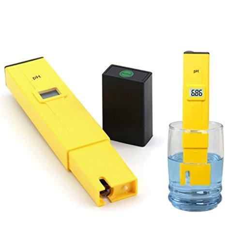 WANGSCANIS Wasserqualität Tester LCD Display 001pH Hohe Genauigkeit Elektrische Taschen Tester Hydroponik Pen für Aquarium Pools Schwimmbad Labor Essen