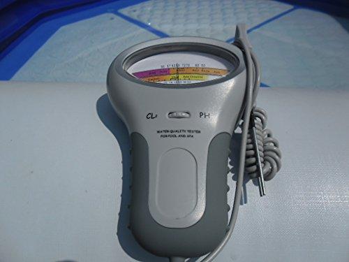 pH  Chlor Messgerät Pool Wassertester Meter Schwimmbad Quick up tester Messgeraet