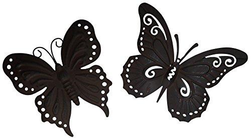 khevga Deko Schmetterlinge 2er Set