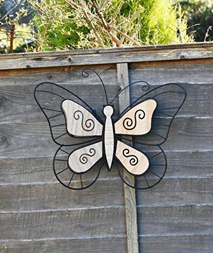 Giant Metall LibelleSchmetterling Home Garten Wand Zaun Dekoration Art Ornament