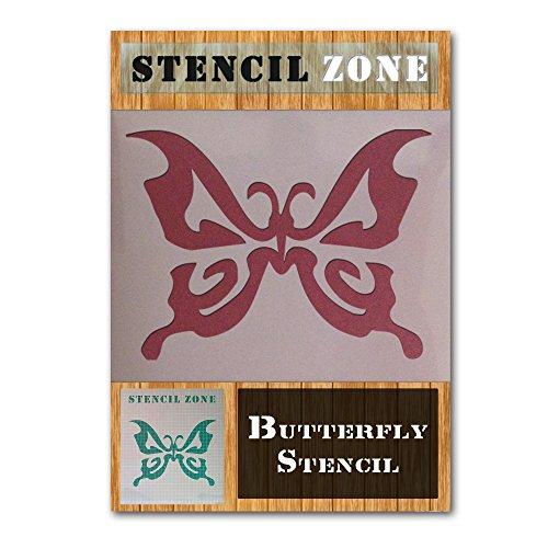 Schmetterling Mylar-Airbrush Malerei Art Wand Schablone 2 A3 Size Stencil - Medium