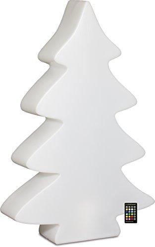 LUMENIO LED Baum beleuchteter Weihnachtsbaum multicolor 15 verschiedene Farben Maxi