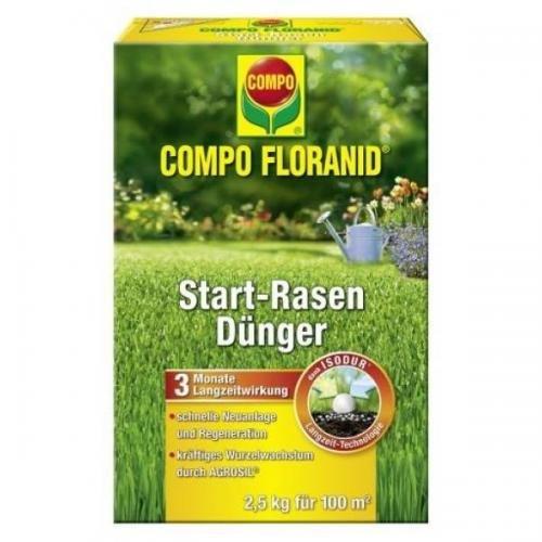 COMPO Floranid Start-Rasendünger 25 kg Volldünger Langzeitdünger