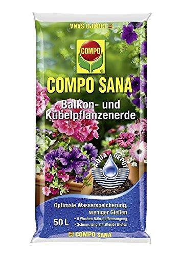 COMPO SANA Balkon- und Kübelpflanzenerde 50 l