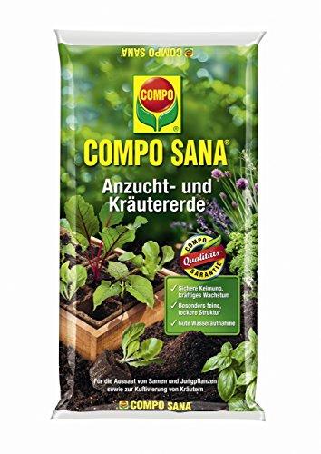 Compo Sana Anzucht- und Kräutererde 10 l