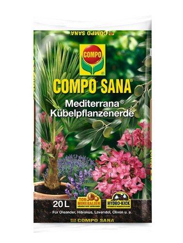Compo Sana Mediterrana Kübelpflanzenerde 20 L