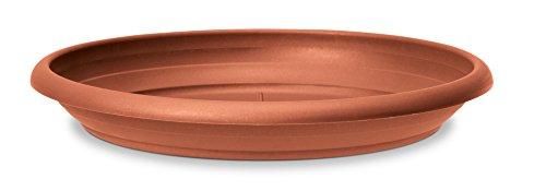 Scheurich Untersetzer aus Kunststoff Terracotta 30 cm Durchmesser 47 cm hoch