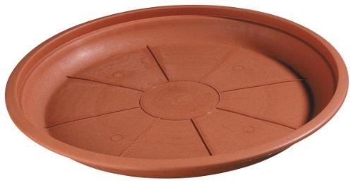 Untersetzer MONTANA  ROMANA rund aus Kunststoff terracotta FarbeterracottaDurchmesser50 cm