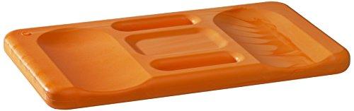 Kronen Hansa Kniekissen Ergo-Soft Mat orange mit ergonomischer Formgebung praktischer Tragegriff 24 x 44 cm groß 30 mm stark 367190