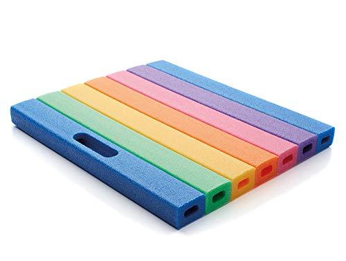 NMC Mehrzweckkissen Kniekissen Sitzkissen Comfy Pad in den Regenbogenfarben