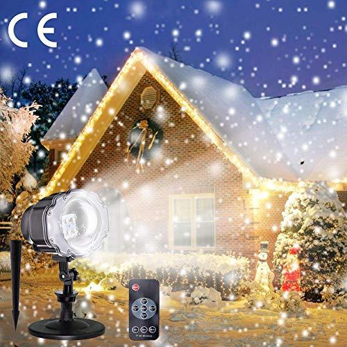 LED ProjektionslampeComaie LED Lichteffekt Dekoration IP65 Wasserdicht Projektor Licht für Weihnachten Thanksgiving Day Kind Geburtstag Partei Weihnachten Garten Party Halloween Dekoration