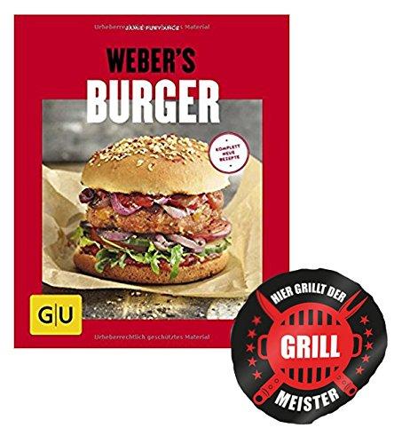 Weber Burger GU s Grillen Burger frisch vom Grill Grillmeister Sticker by Collectix