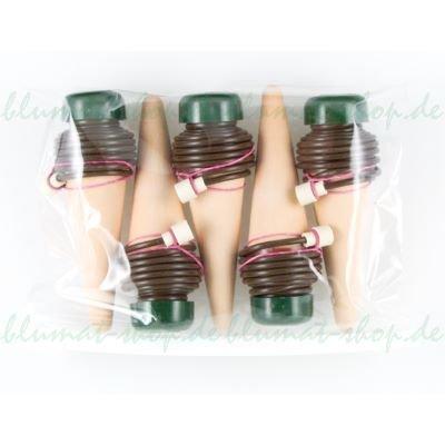 BLUMAT XL Wasserspender für größere Pflanzen - 5 Stück