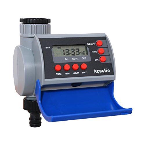 Aqualin LCD Display Bewässerungsuhr Magnetventil Digitale Bewässerungssystem für Automatisch Bewässerung