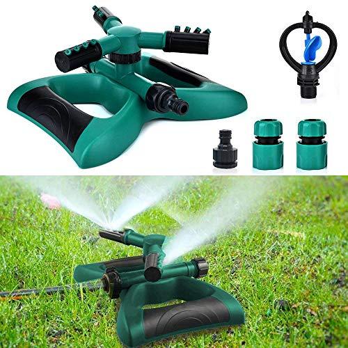 Notail Garten Sprinkler Lawn Sprinkler Three Arm Sprinkler Automatische Rasen Wasser Sprinkler für Bewässerungsanlagen