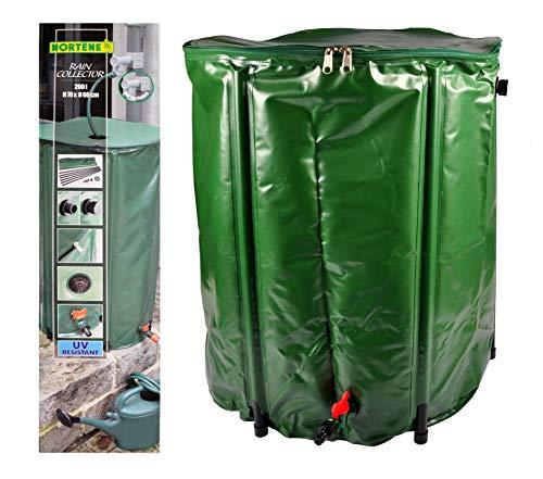 Nortene Regentonne 200L faltbar Wassertonne Wassertank Regenfass Wasserbehälter Tonne