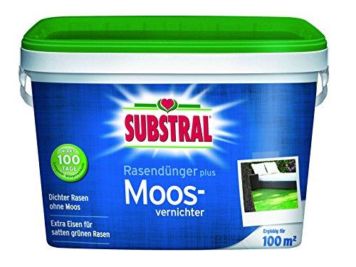 Substral 8259 Rasendünger plus Moosvernichter für 100 m² 4 kg