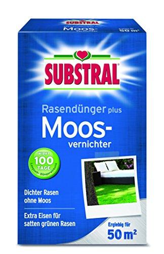 Substral 8266 Rasendünger plus Moosvernichter für 50 m² 2 kg