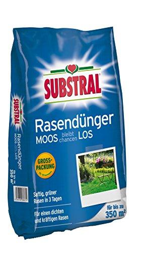 Substral Rasendünger Moos bleibt chancenlos für 350 m²- 105 kg
