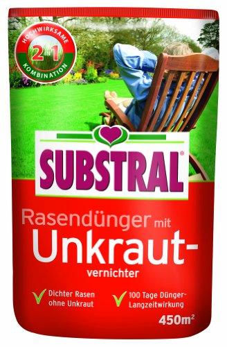 Substral  Rasendünger mit Unkrautvernichter f 450 m² - 9 kg