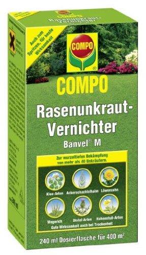 COMPO Rasenunkraut-Vernichter Banvel M 240 ml