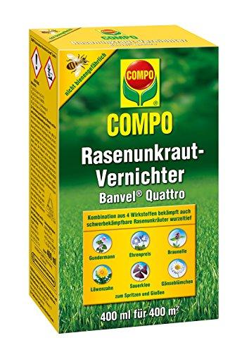 COMPO Rasenunkraut-Vernichter Banvel  Quattro 400 ml