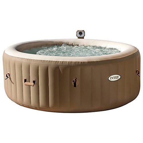 Intex Whirlpool Pure SPA 77 Bubble Massage Braun Ø 196 x 71cm