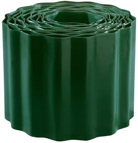 Connex Rasenkante 15 x 900 cm grün PVC  Beeteinfassung  Beetumrandung  Mähkante  Raseneinfassung  FLOR14215