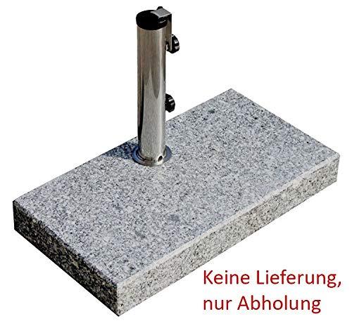 ProKIRA Sonnenschirmständer  25 kgSchirme bis Ø300cm  Granit-Balkonschirmständereckig