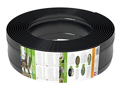 Amispol 12m Rasenkante Kunststoff 1254mm Beetumrandung Beeteinfassung Mähkante Die Beste für Runde Formen un Kurven