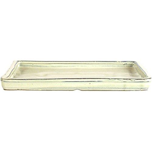 Bonsai Untersetzer 295x235x25cm Weiß Rechteckig