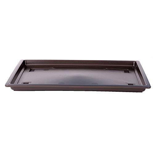 Bonsai - Untersetzer eckig ca 40 x 30 cm Kunststoff 53130