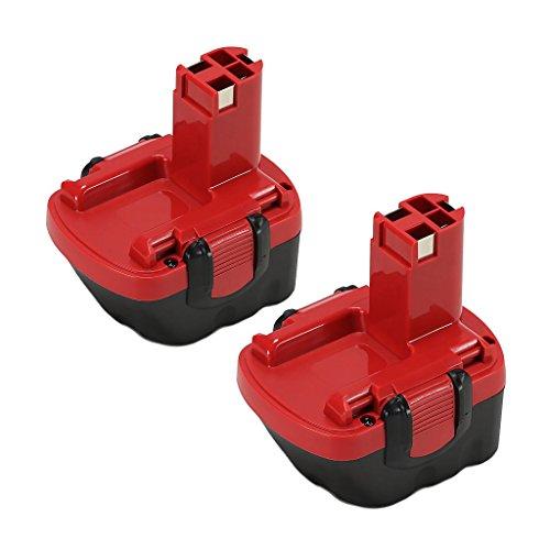 2x POWERAXIS für Bosch Akku 12V 30Ah Ni-MH Ersatzakku für Bosch BAT043 2607335261 GSR 12-2 BAT045 BAT046 BAT049 BAT120 GSB 12VE-2 PAG 12V PSB 12VE-2 PSR 12VE-2 2607335273 2607335274 2607335692