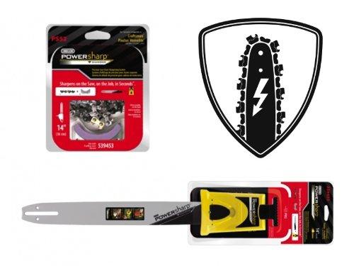 Oregon PowerSharp Starterset für Motorsäge OBI BKS 40 40 cm Schwert Schnittlänge 38 13 mm