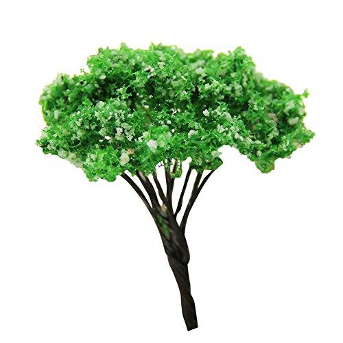 Lumanuby 1 Stück Mini Gartendeko Kunstharz Material DIY Werkzeug für Topfpflanzen Dekoration Simulierte Landschaft Baumform Design Mini Gartendeko Höhe ca65cm Kiefer A