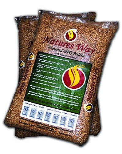 RÖSLE Holzpellets Hickory 9 kg Beutel für Pellet Grill ohne Zusätze