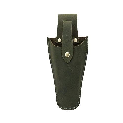 QEES Leder Etui Werkzeug Holster Gürtel Halter Garten-Tasche für Zange Beschneiden Scheren Gartenschere Schere oder Garten Messer Leder Holster jdb01