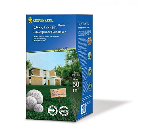 Rasensamen - Profi-Line Dark Green - Dunkelgrüner Gala-Rasen 1 kg von Kiepenkerl