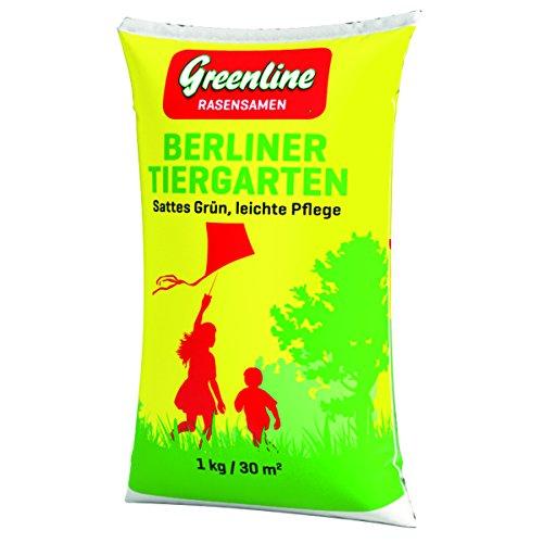 Greenline Rasensamen Berliner Tiergarten 1 kg grün