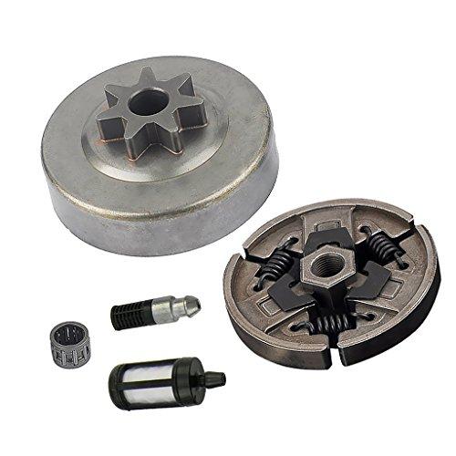 MagiDeal Kupplungs Drum Ketten Sprock Kraftstoff-Filter für Stihl 029 039 ms290 390 Kettensäge