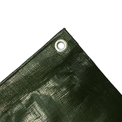 210gm² Abdeckplane 4x8m grün 32m²