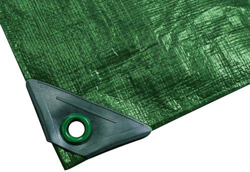 Noor Gewebe-Plane PPPE Grün 3 x 6 m
