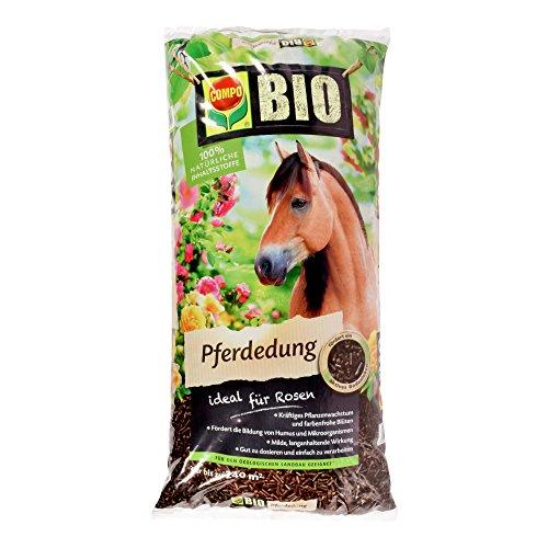 COMPO BIO Pferdedung Organischer Nährstoffdünger für Rosen 12 kg