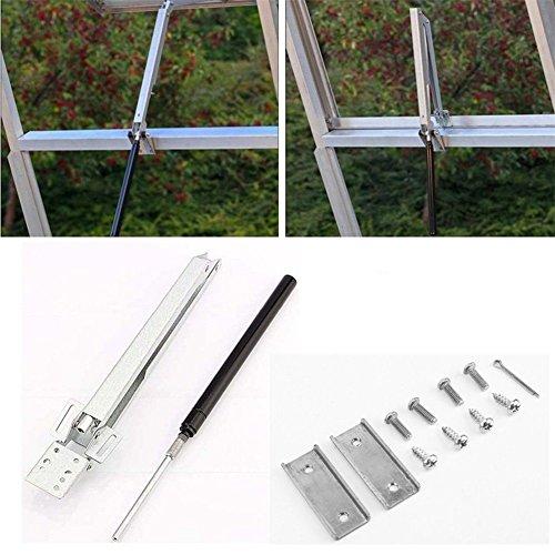 Automatischer Fensteröffner für Gewächshaus Temperaturgesteuerter Druckzylinder  Fensterheber für Treibhaus für Kippfenster