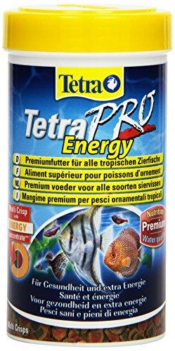 Tetra Pro Energy Premiumfutter Flockenfutter mit Nährstoffkonzentrat für tropische Zierfische für Gesundheit und extra Energie 250 ml Dose