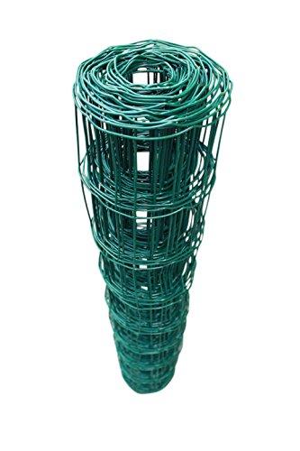 TOP MULTI Maschendrahtzaun Wildzaun Gartenzaun PVC-beschichtet grün - versandkostenfrei D 76mm 80cm x 25m