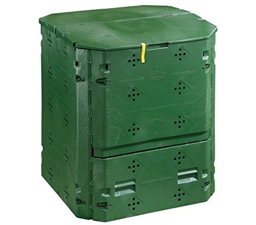 Dehner Thermo Komposter 420 Liter ca 84 x 74 x 74 cm Kunststoff grün
