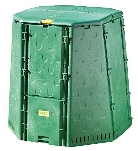 Juwel Komposter AEROQUICK 890 XXL Kunststoff Thermokomposter für Küchen- und Gartenabfälle ca 900 l Nutzinhalt aktives Belüftungssystem UV-beständig 107 x 107 x 109 cm Art-Nr 20157