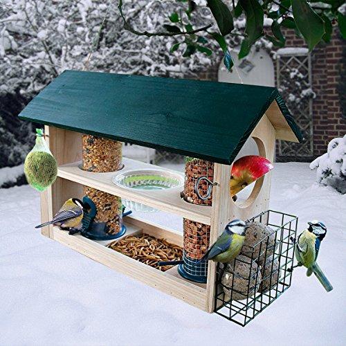 Gärtner Pötschke Vogelfutterhaus Deluxe 8 in 1