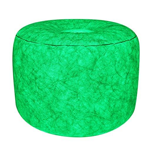 7even LED-Hocker 60cm Durchmesser  individuelle Farbeinstellung  aufblasbares Sessel Kissen inkl Pumpe  Fernbedienung  Bedienungsanleitung
